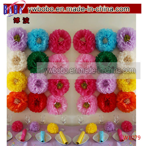 Wedding Party Birthday Decorations Tissue Paper Pompoms POM Poms (w1081)