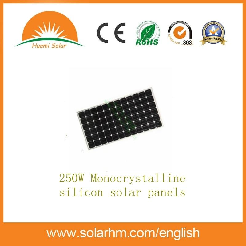 China 250w Agrade Mono Solar Panel With Ce Tuv Etl Certification