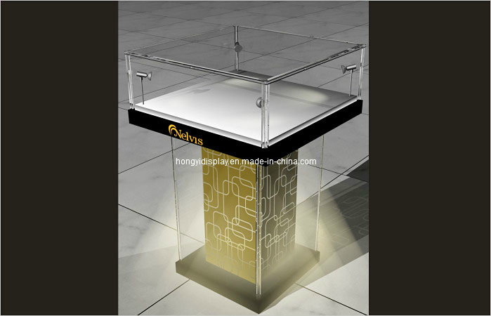 Jewelry Showcase, Jewelry Display Kiosk, Glass Cabinet, Stand pictures & photos