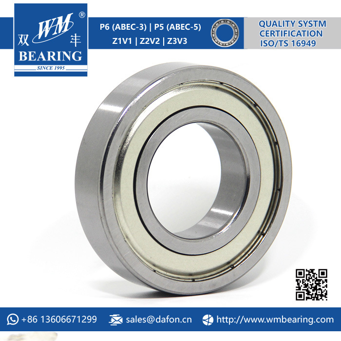P6 Abec-3 Z2V2 SKF 6208 Deep Groove Ball Bearing pictures & photos