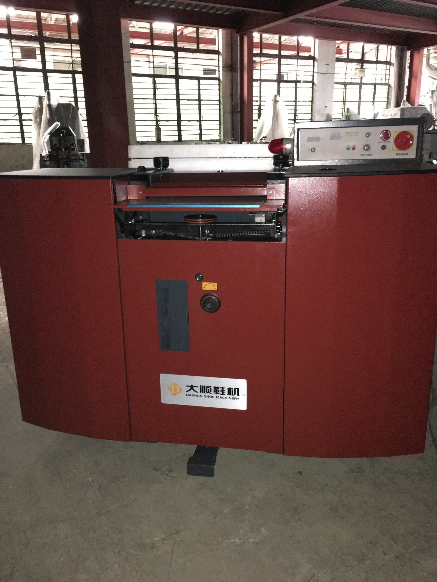Ds-818-420 Band Knife Splitting Machine for Shoe
