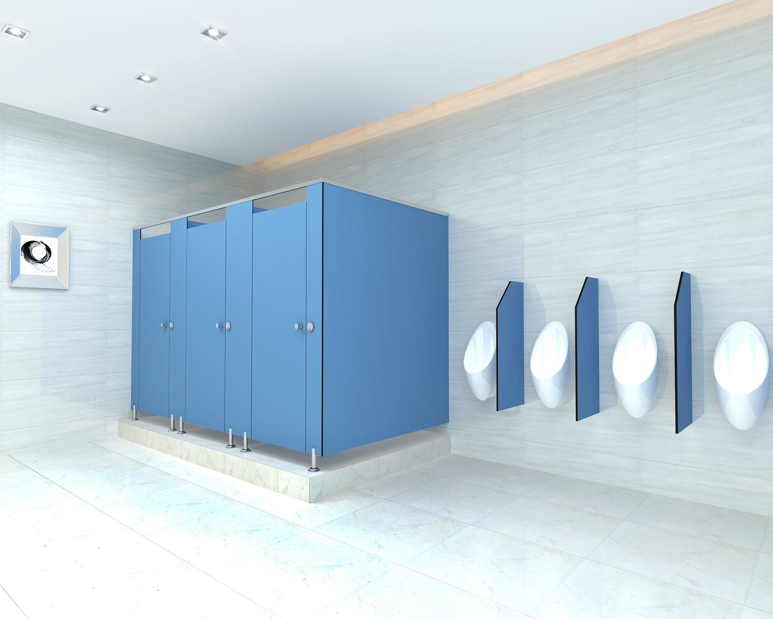 China Cheap Commercial Bathroom Toilet Cubicles with Accessories ...