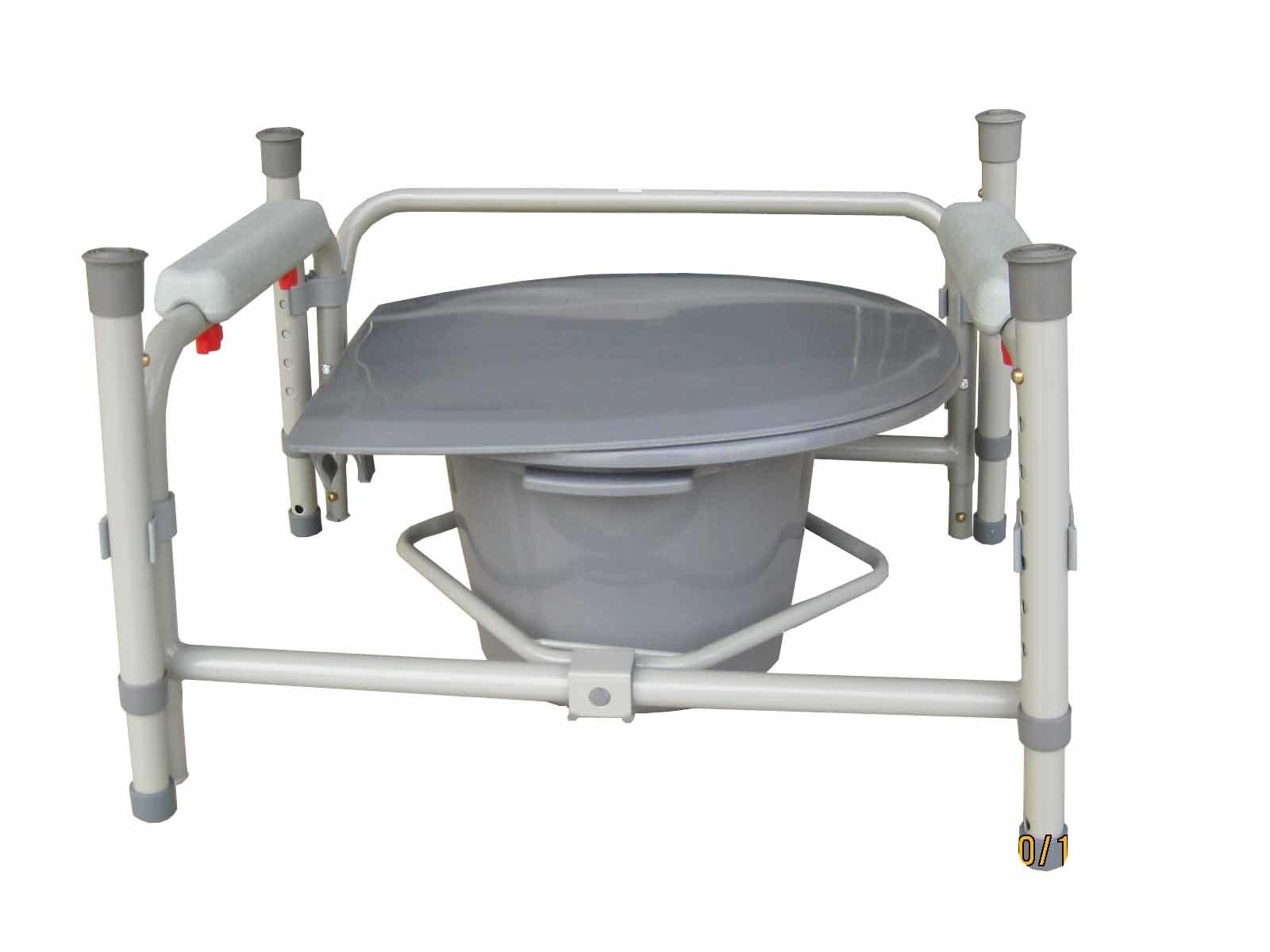 China Medical Equipment Adjustable Plastic Toilet Chairs Elderly ...
