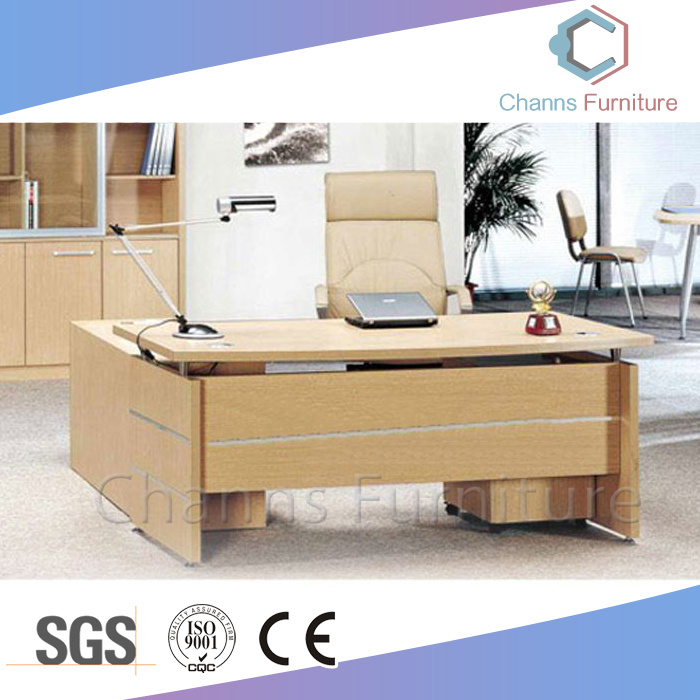 China Classical Furniture Aluminum Office Table Boss Desk Cas Md1877