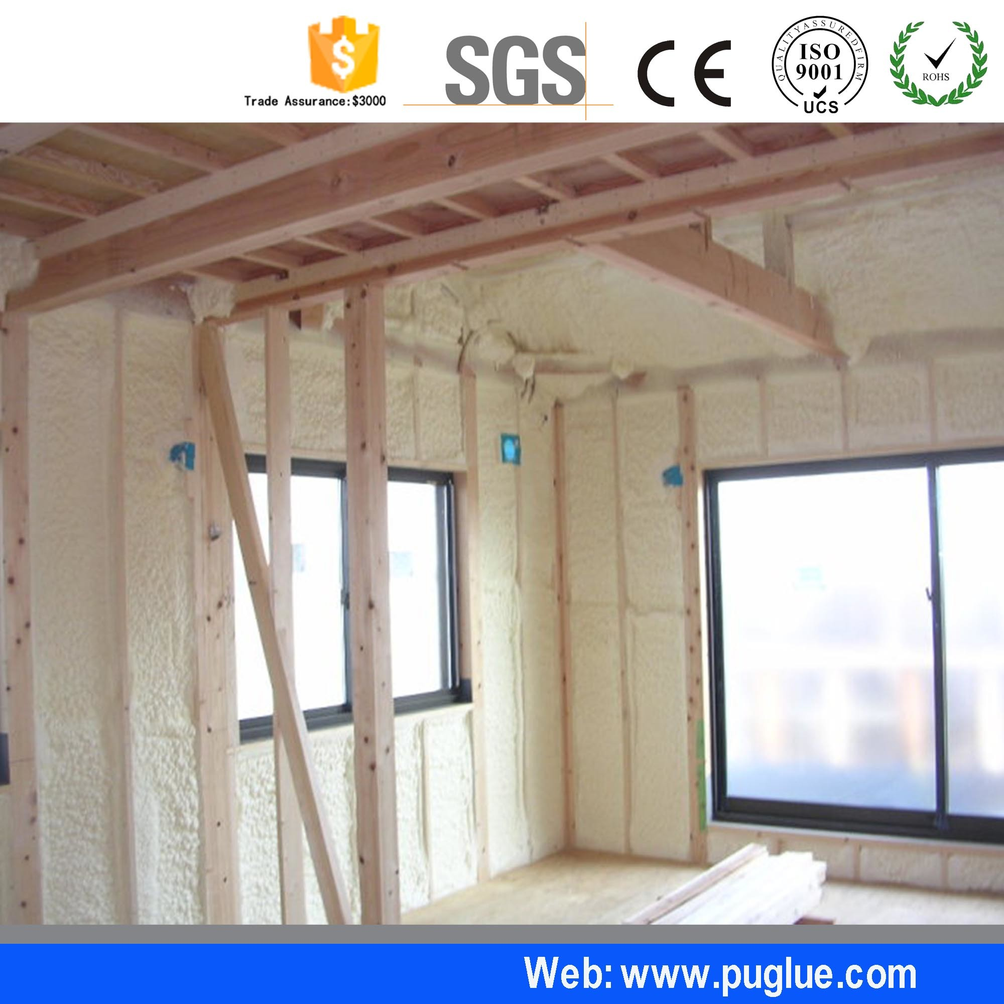 China Low Price Foam Polyurethane Liquid Spray For Wall