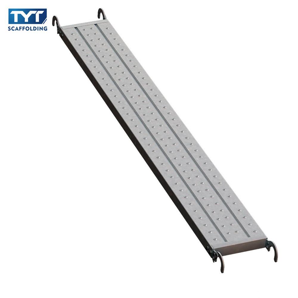 China Select Structural Scaffold Planks Steel Catwalk China Steel Grating Catwalk Platform Metal Scaffold Plank