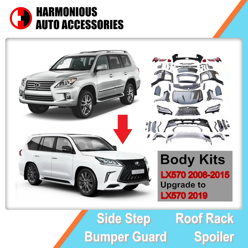 [Hot Item] Body Kits Facelift for Lexus Lx570 2008-2015, Upgrade to Lx570  2019