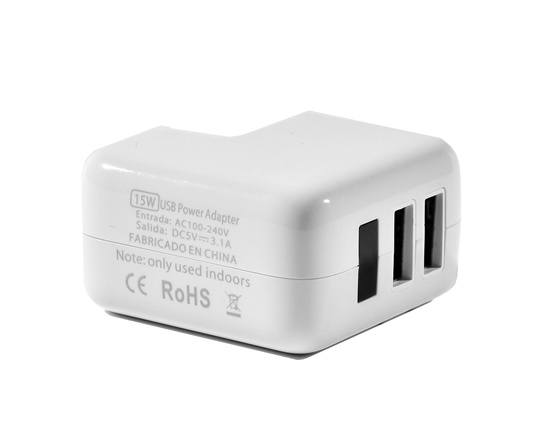 15W Detachable Dual USB AC Adapter with Us/UK/EU Plug pictures & photos