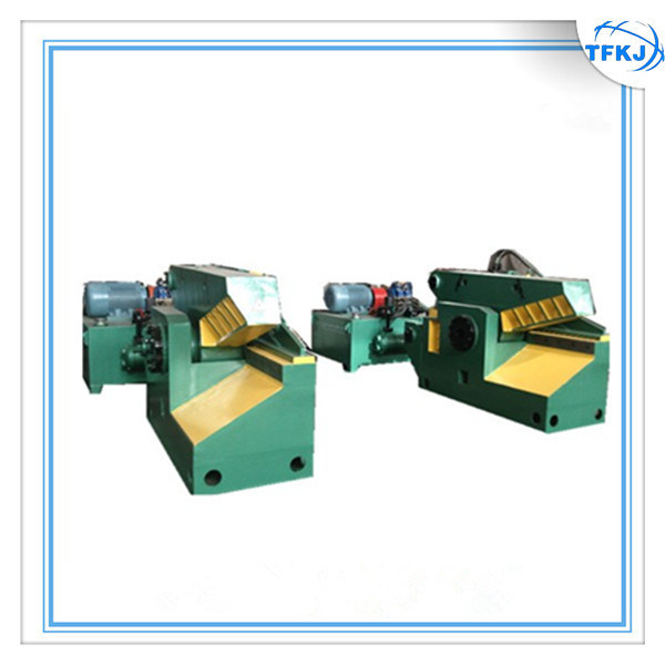 Q43-630 electric Scrap Defromed Steel Bar Shear