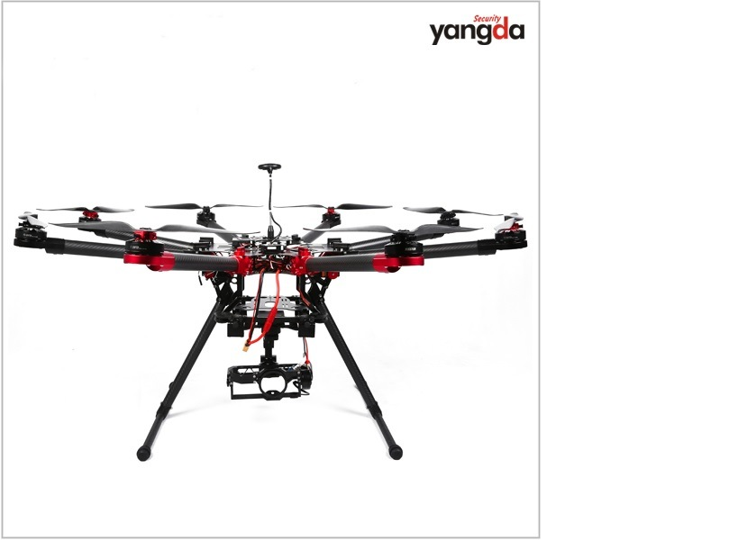 China Professional Yd1000 Arf RC Octocopter Uav Drone with 1000mm ...