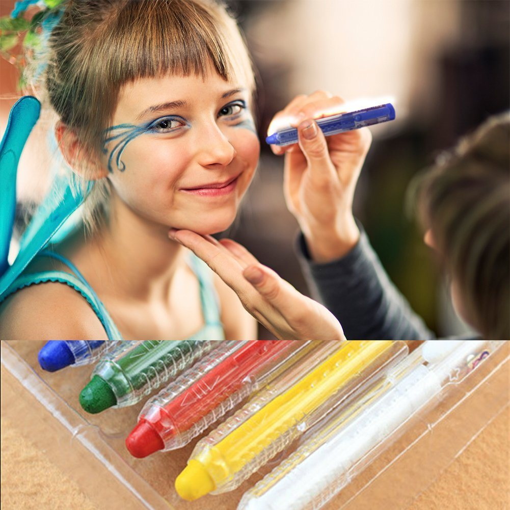 China Bonus Washable Art Paints For Kids Face Body Painting Delicate Water Based Color With Portable Pen Shape Photos Pictures Made In China Com