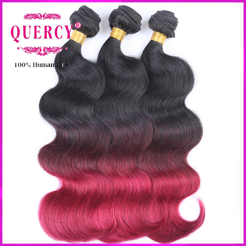 China Hot Sales Brazilian Virgin Remy Body Wave Ombre Hair