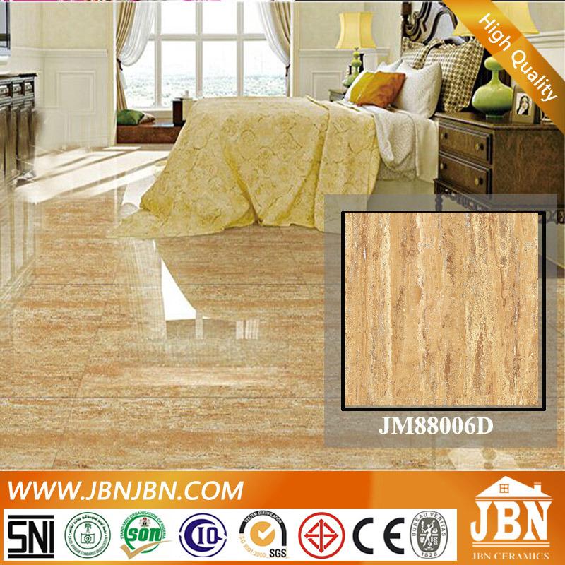 China Travertine Marble High Polished Porcelain Flooring Tile Jm88005d