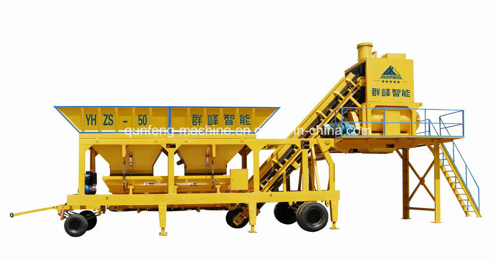 High Accuracy Movable Mixing Plant pictures & photos