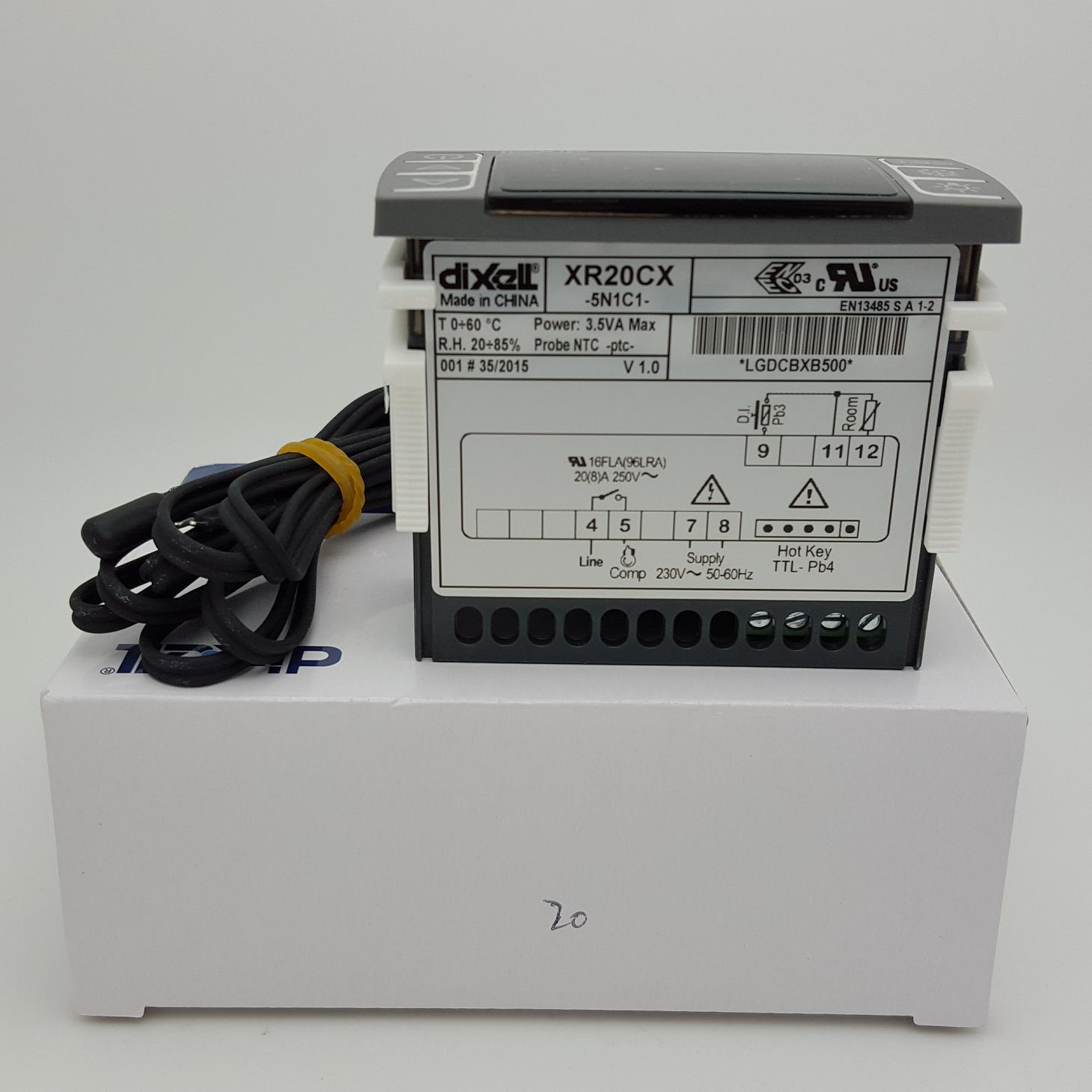 China Xr70cx Dixell Temperature Controller 230vac Fan Control Electronic