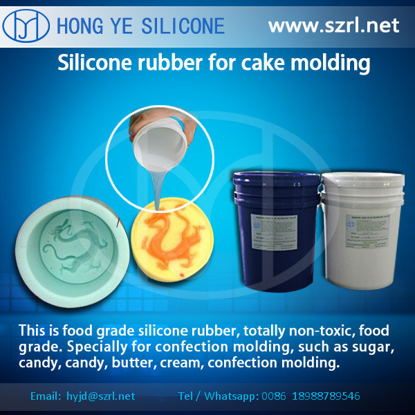 Food Grade Liquid Silicone Rubber Mold Making Silicones for Chocolate Candy Cake pictures & photos