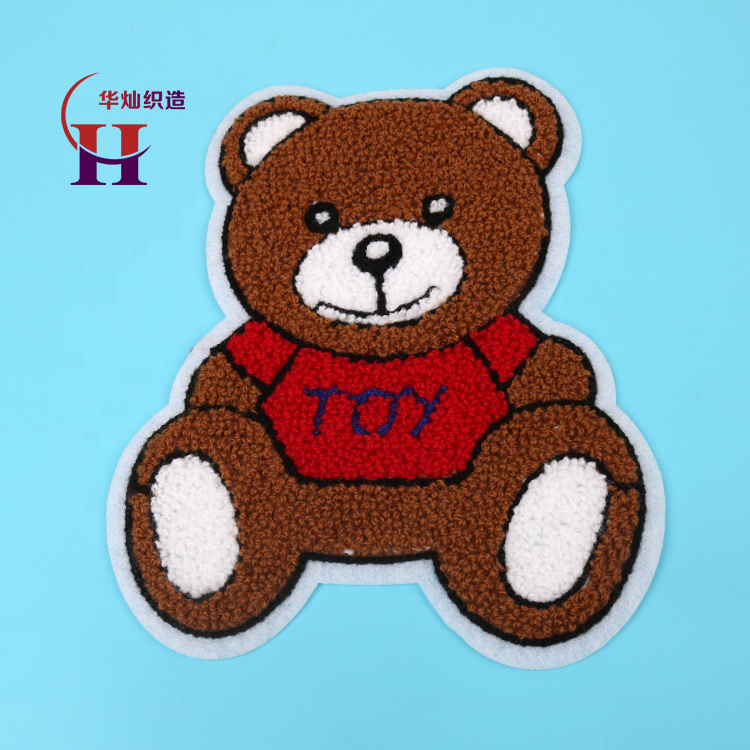 China Personalized Design Teddy Bear Chenille Embroidery For Kids