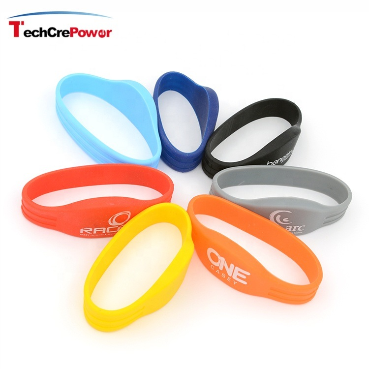 [Hot Item] Custom 125kHz RFID Silicone Medical ID Bracelets / Smart  Wristband