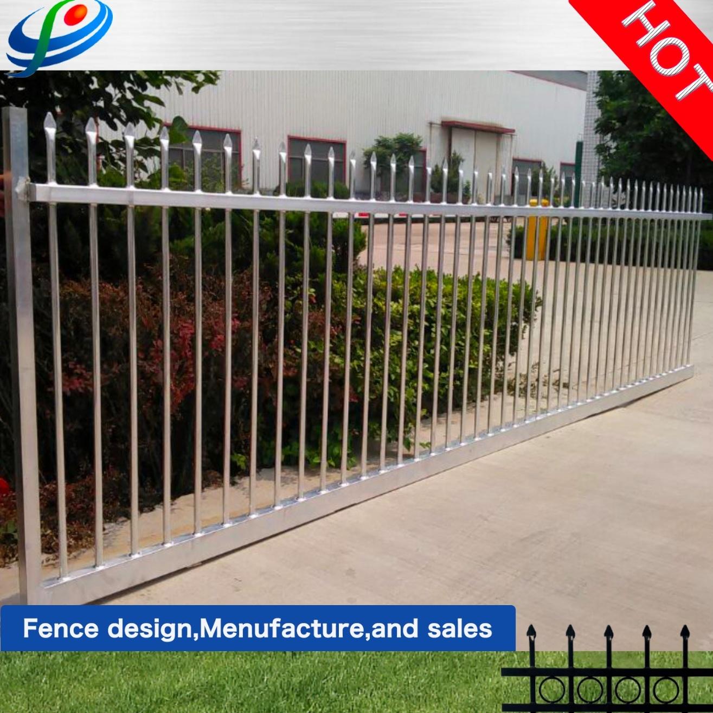 Iron Main Gates Design Aluminum Sliding Gate Beautiful Steel Fence
