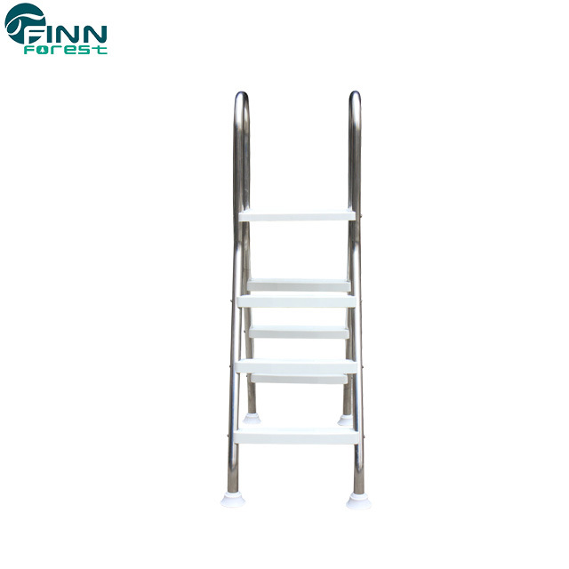 China Two Side Stainless Steel Above Ground Swimming Pool Ladder ...