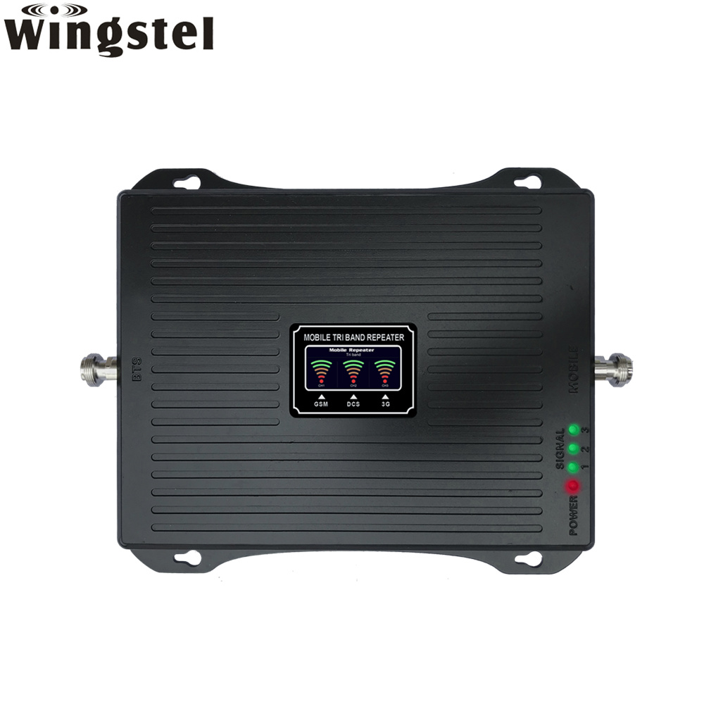 [Hot Item] GSM 4G Lte Cellular Phone Network Amplifier Mobile Signal  Booster Wideband Amplifier/Repeater with Antenna
