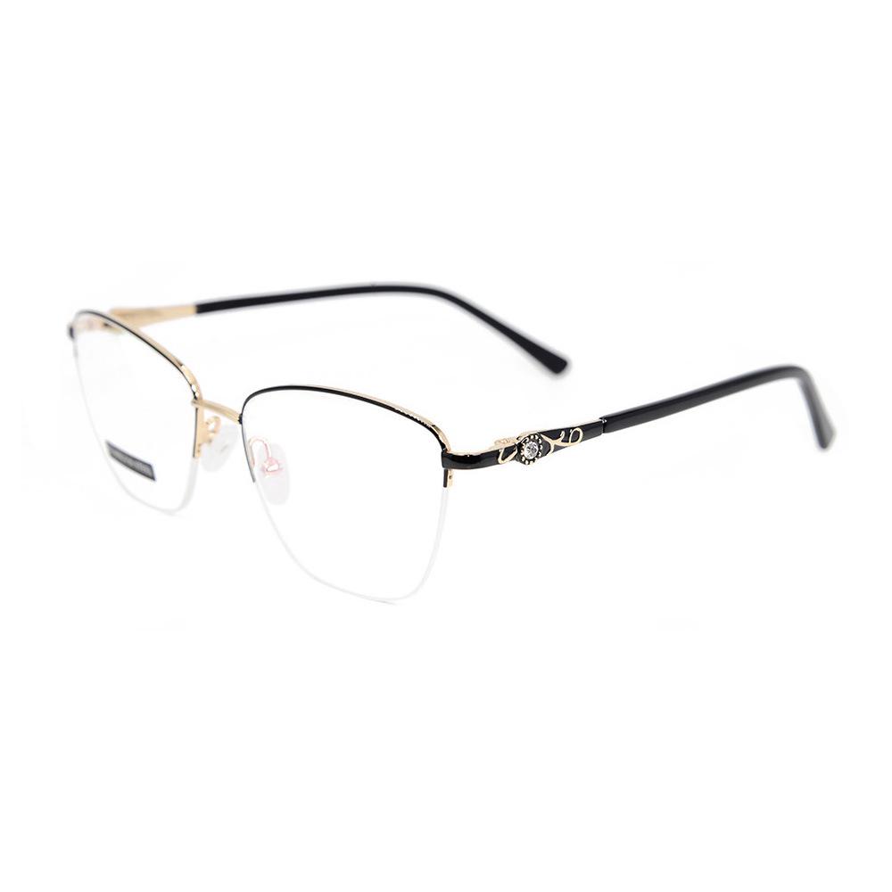 7d7d49cf165d Wholesale Latest Glasses Frames for Girls Fashion Design Diamond Metal  Optical Eyeglass Frames