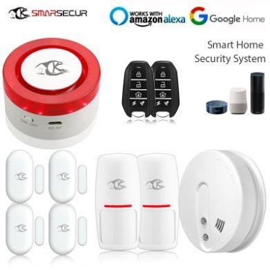 China Smarsecur Tuya Smart Life Intruder Burglar Security WiFi Alarm