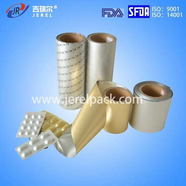 Pharmaceutical Alu Alu Foil for Bigger Bubble Packaging