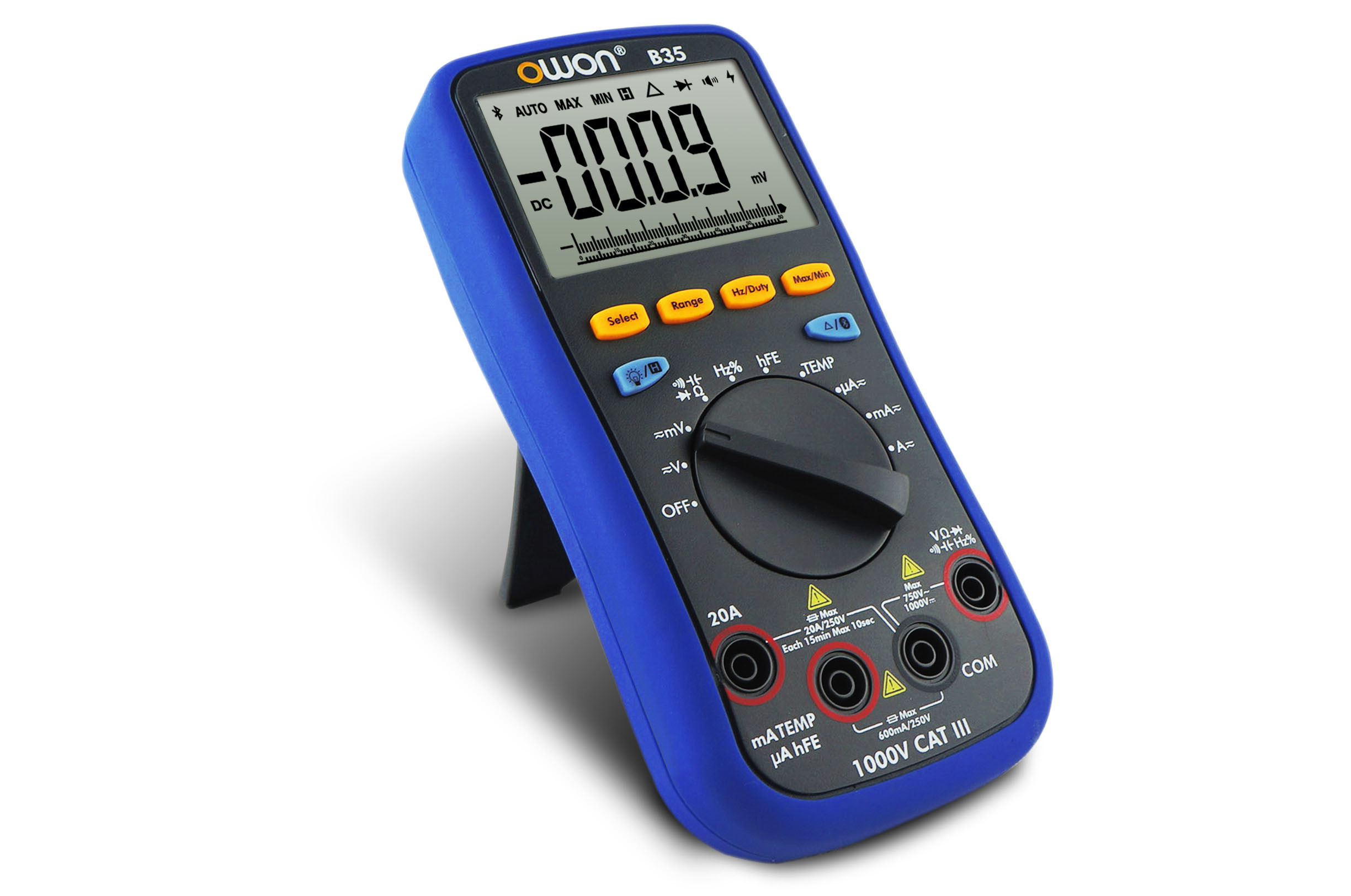 OWON Truerms Available Bluetooth Smart Digital Multimeter (B35T)