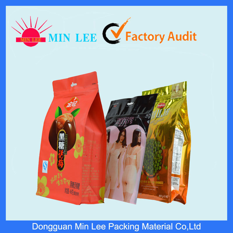 Aluminum Foil Ziplock Pet Food Packaging Plastic Bag (ML-AL-01) pictures & photos