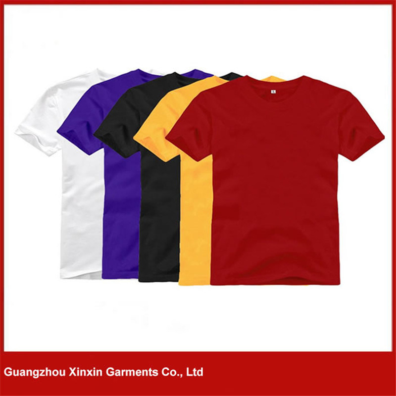 Wholesale Good Quality 100 % Cotton 180GSM T-Shirts (R114) pictures & photos