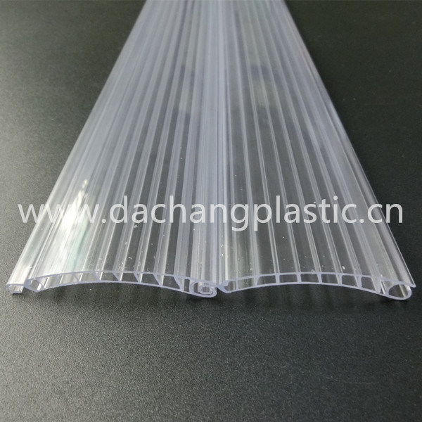 China Clear Plastic Rolling Shutter Slats China Rolling