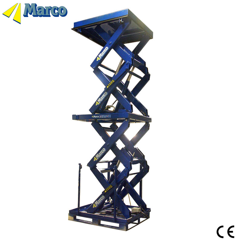 5-6 Ton Marco High Scissor Lift Table with CE Approved
