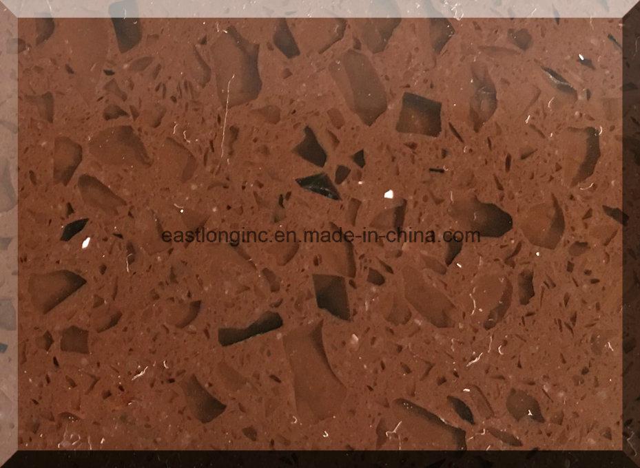 Sparkling Dark Brown Quartz Stone