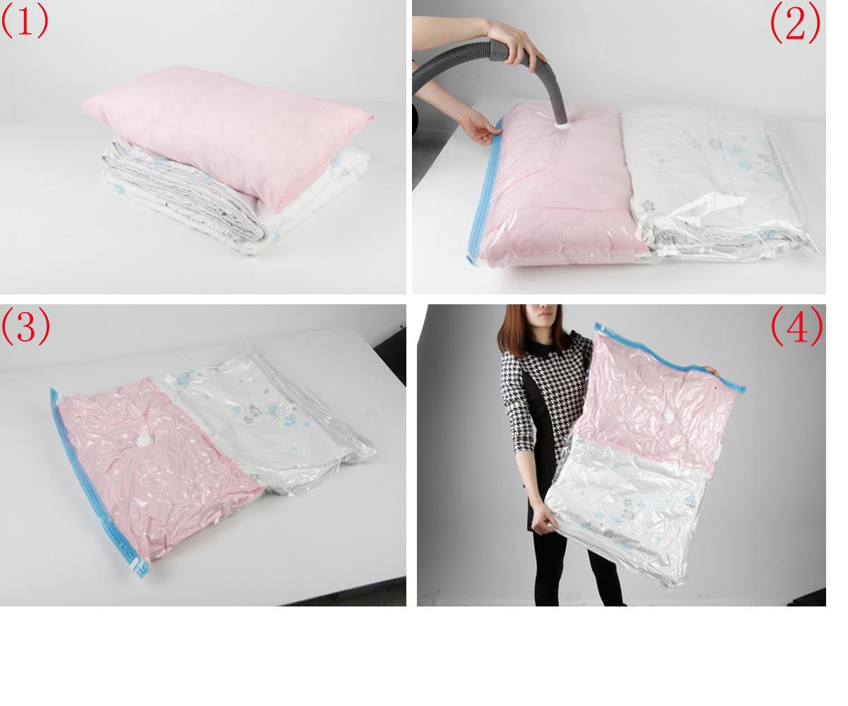 China E Bag Jumbo Bedding Storage Bags 2 Pack 0 08mm Thickness Pa Pe Vacuum