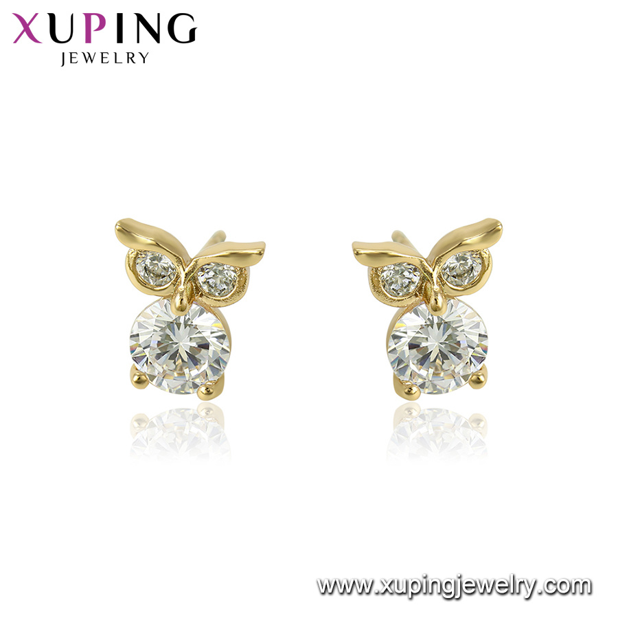 China 28935 Fashion Jewelry Golden Earring Designs for Women. New ...