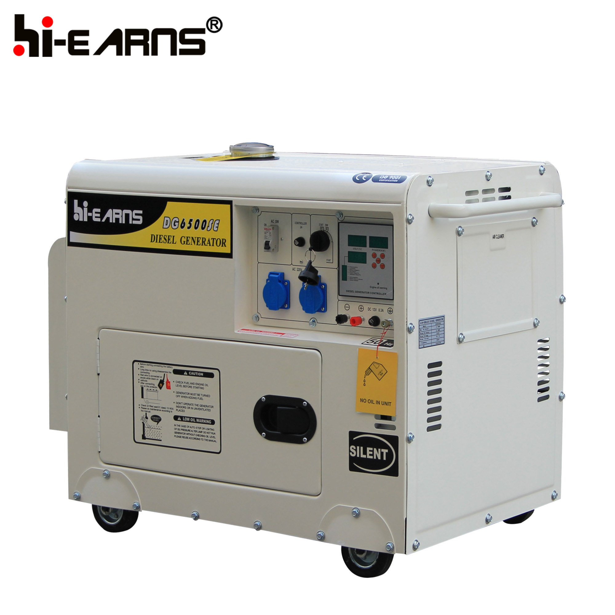 Air cooled Diesel Generator Series Changzhou Hi Earns Mechanical