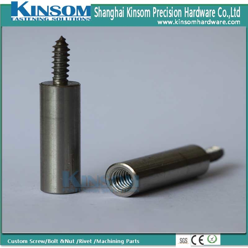 Stainless Steel Double Head Self Tapping Screw Inner Thread Machining Parts pictures & photos