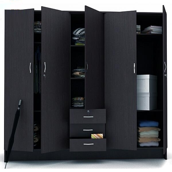 China Almari New Design Wall Unit Bedroom Furniture Wardrobe