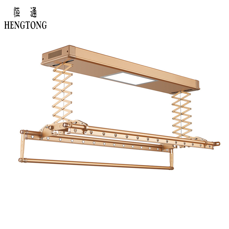 China Intelligent Ceiling Clothes Drying Rack Laundry Room