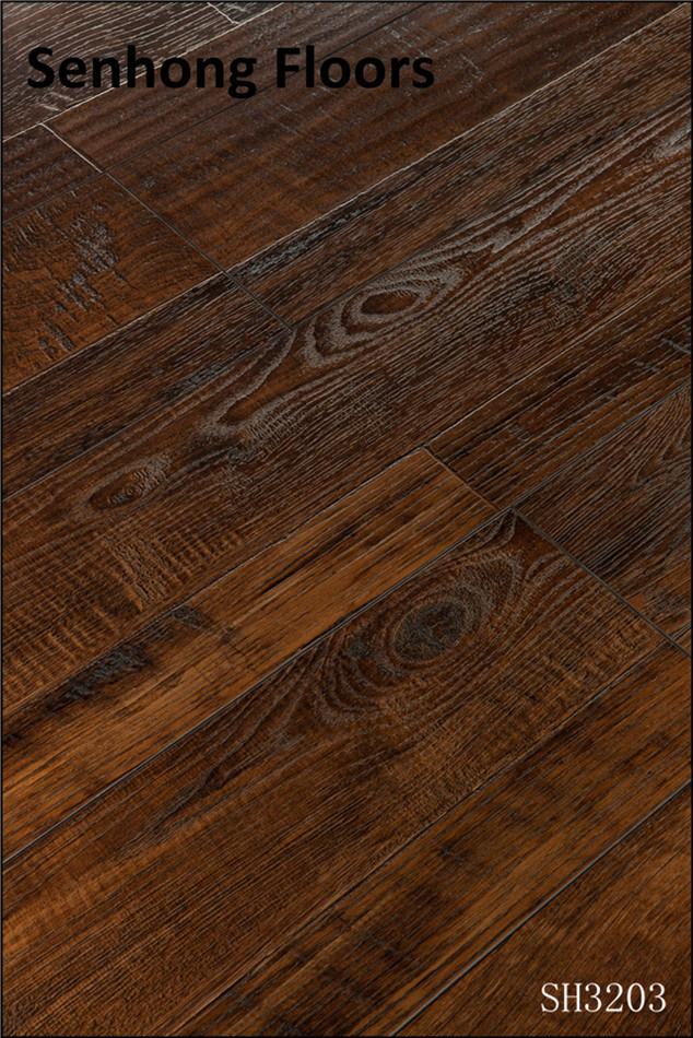 China Laminate Flooring Sh3203 New Country Oak Random Collection