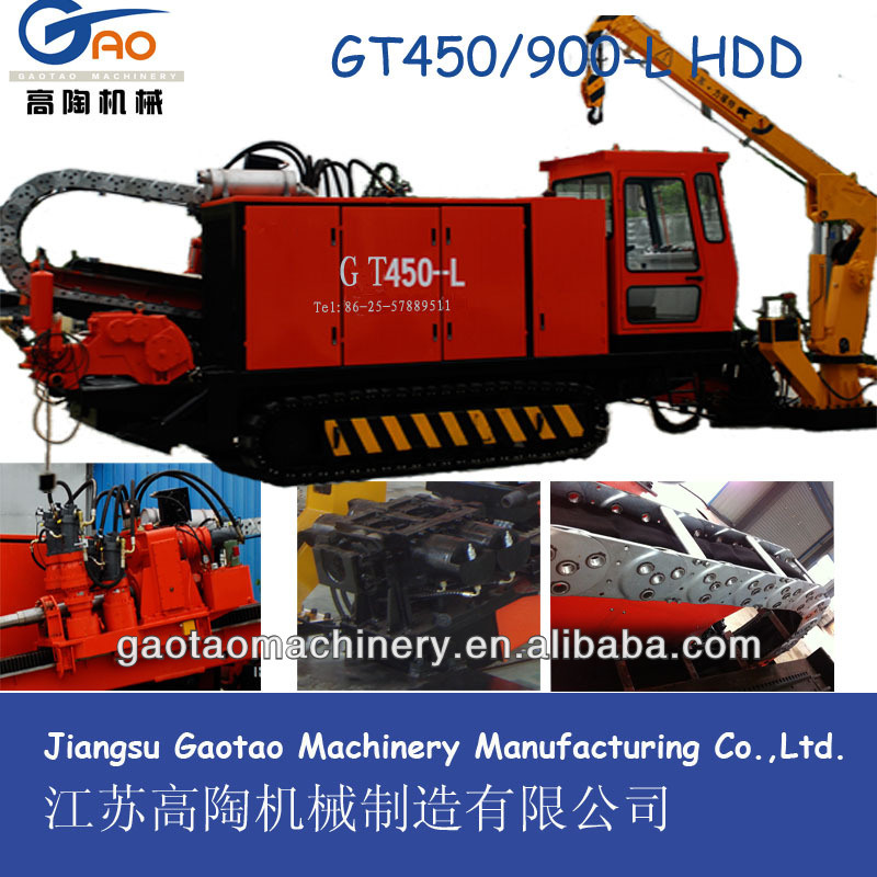 Gt450-L Steel Track Horizontal Directional Drilling (HDD) Rig (GT450-L)