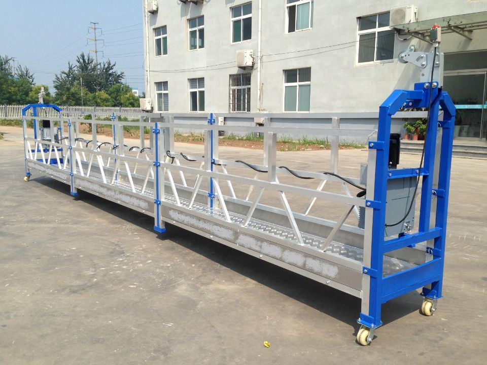 China Temporary Gondola/ Suspended Wire Rope Platform