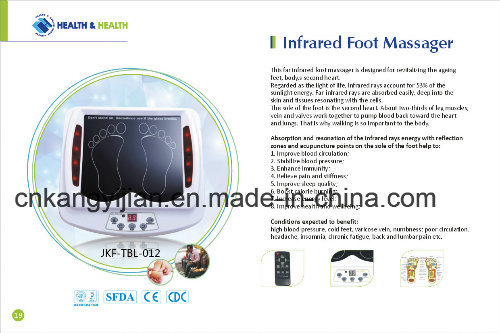 Ce Certificated Vibrating Foot Massager (JYK-TBL-012A) pictures & photos