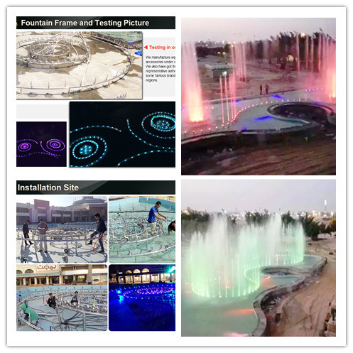 Egypt Music Fountain Outdoor Running Spring Fountain pictures & photos