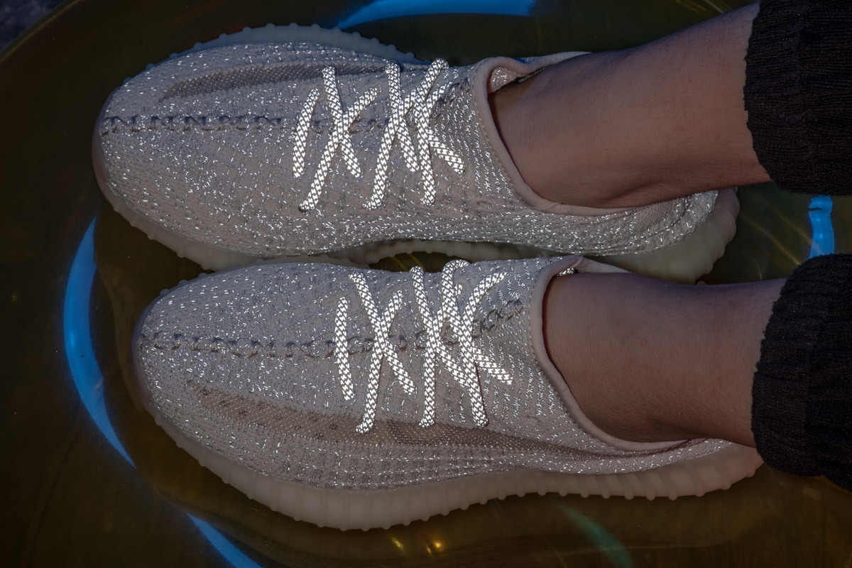 lowest price 5a4d2 79a8d [Hot Item] 350 V2 Yeezy Boost Lundmark Reflective Designer Shoes Sport  Sneakers
