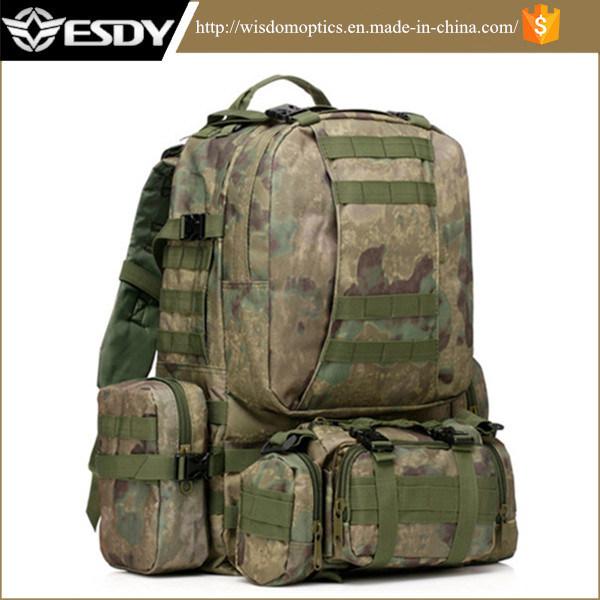 7bb5e144baa [Hot Item] Tactical Military 50L Combination Backpack /Airsoft Army Hiking  Rucksacks