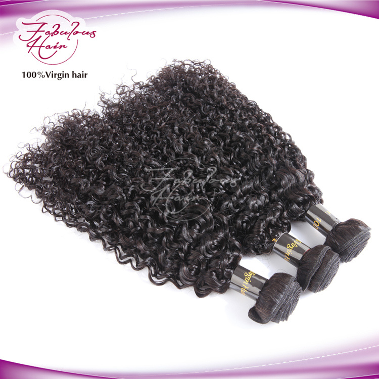 Top Human Hair Virgin Brazilian Curly Hair pictures & photos