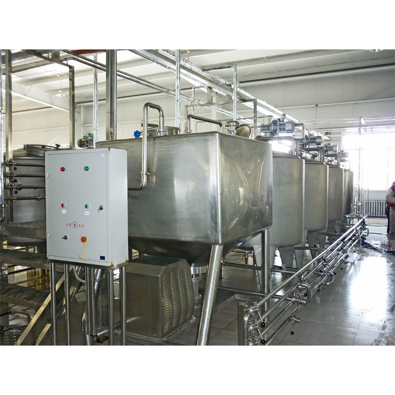 Full Automatic 2000L/H Uht Milk Processing Line