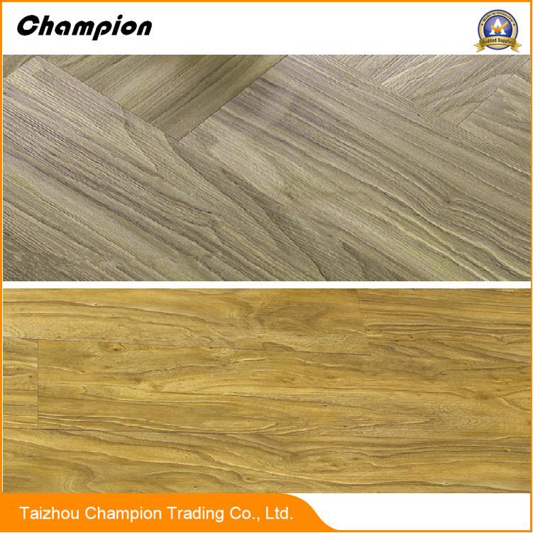 2018 Wooden Grain Design Vinyl Tile Pvc Plank Plastic Flooring On
